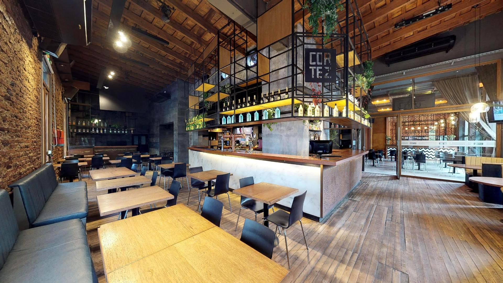 Bar Cortez en La Plata también lleva a un gemelo digital sus instalaciones